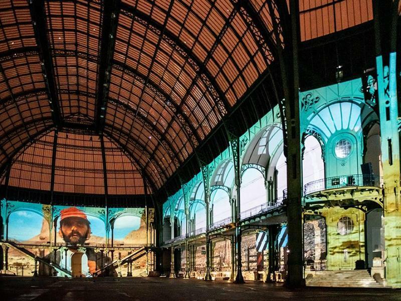 Riesen-Installation im Pariser Grand Palais - Foto: Nicolas Krief/Rmn - Grand Palais Paris