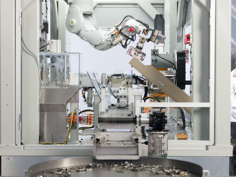 Apple-Roboter - Foto: Apple/dpa