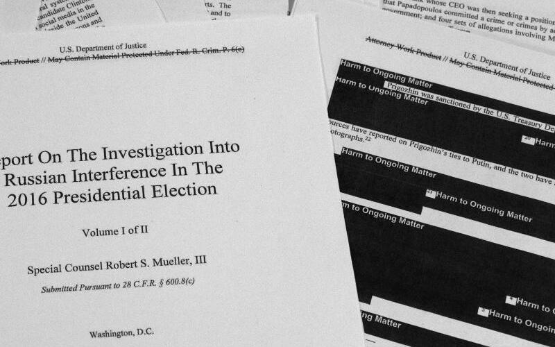 Mueller-Bericht - Foto: Jon Elswick/AP