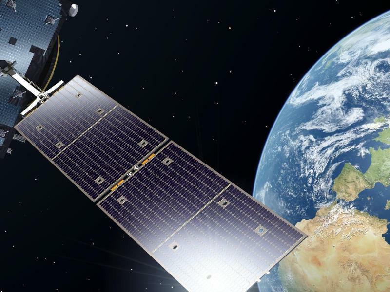 Galileo-Satellitensystem - Foto: Pierre Carril/ESA/