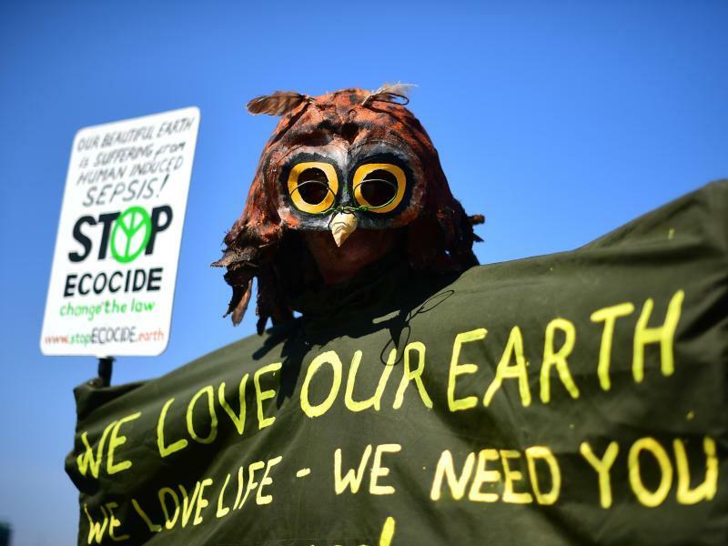 Für den Klimaschutz - Foto: Victoria Jones/PA Wire