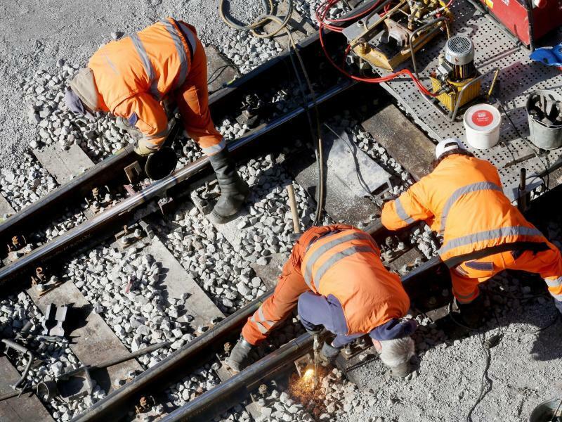 Schieneninfrastruktur - Foto: Roland Weihrauch