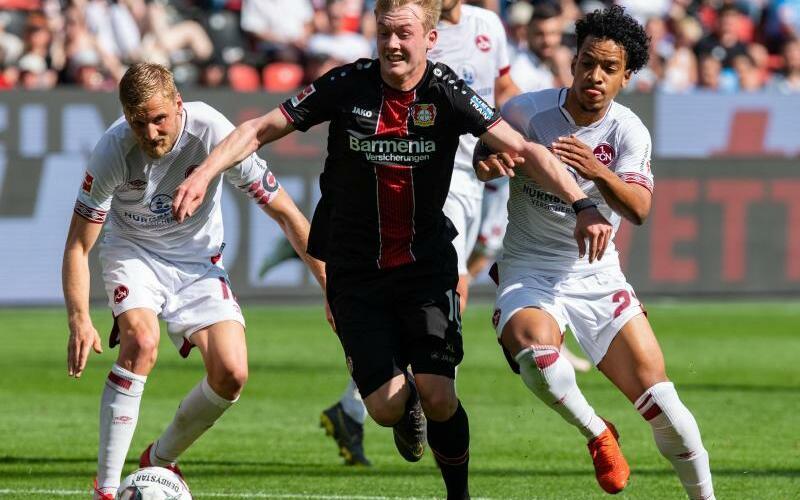 Bayer Leverkusen - 1. FC Nürnberg - Foto: Guido Kirchner