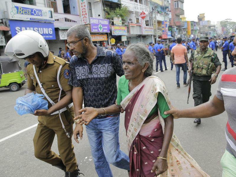 Terror in Sri Lanka - Foto: Eranga Jayawardena/AP