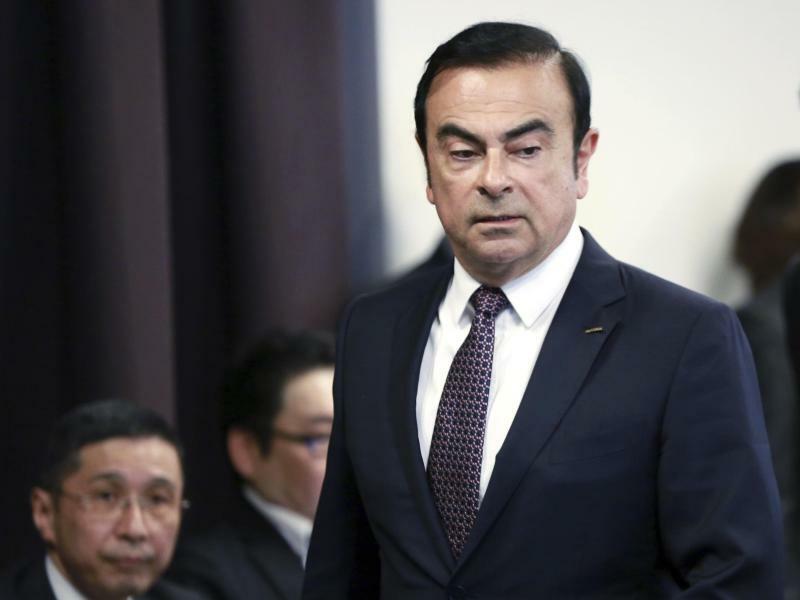 Carlos Ghosn - Foto: Eugene Hoshiko/AP