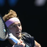 Alexander Zverev - Foto: Andy Brownbill/AP