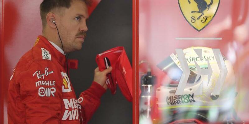 Sebastian Vettel - Foto: Ng Han Guan/AP
