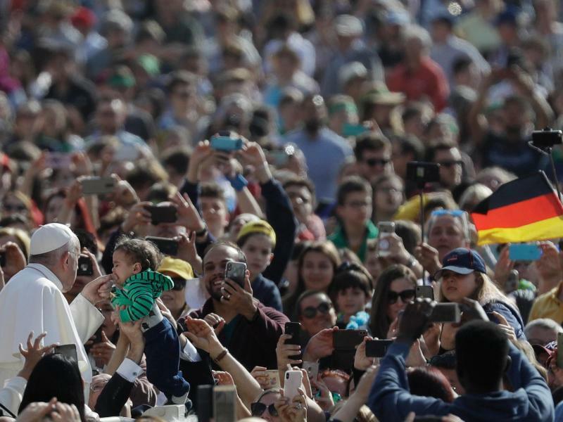 Generalaudienz - Foto: Gregorio Borgia/AP