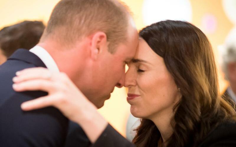 Prinz William in Neuseeland - Foto: David Rowlands/NZ Government/AAP