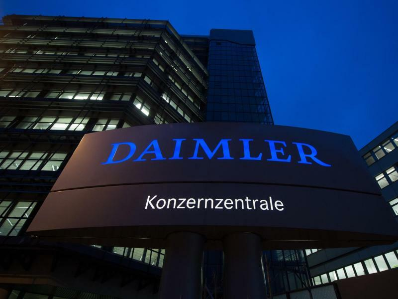 Daimler-Zentrale - Foto: Marijan Murat