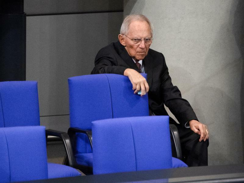 Wolfgang Schäuble - Foto: Ralf Hirschberger