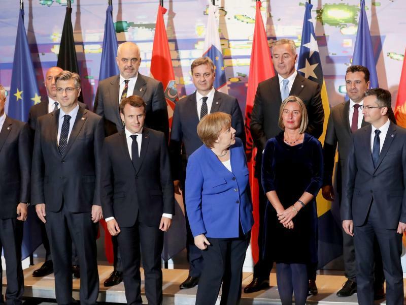 Balkan-Konferenz in Berlin - Foto: Michael Sohn/AP Pool
