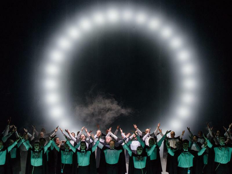 Oper The Circle am DNT Weimar - Foto: Candy Welz