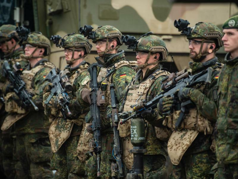 Bundeswehrübung - Foto: Philipp Schulze