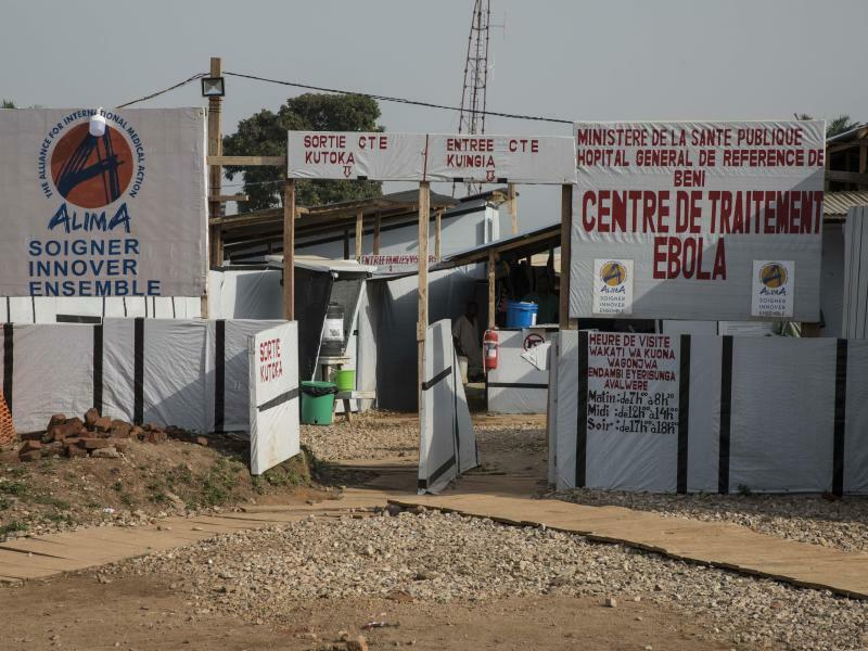 Ebola-Behandlungszentrum - Foto: Marco Frattini/UN World Food Programm/WFP