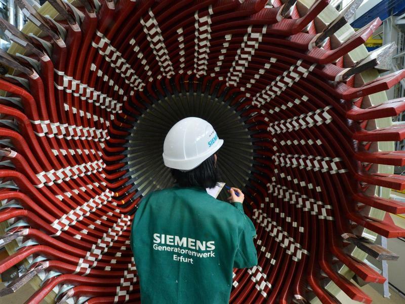 Kraftwerkssparte von Siemens - Foto: Martin Schutt
