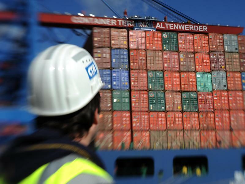 Containerterminal Altenwerder - Foto: Marcus Brandt