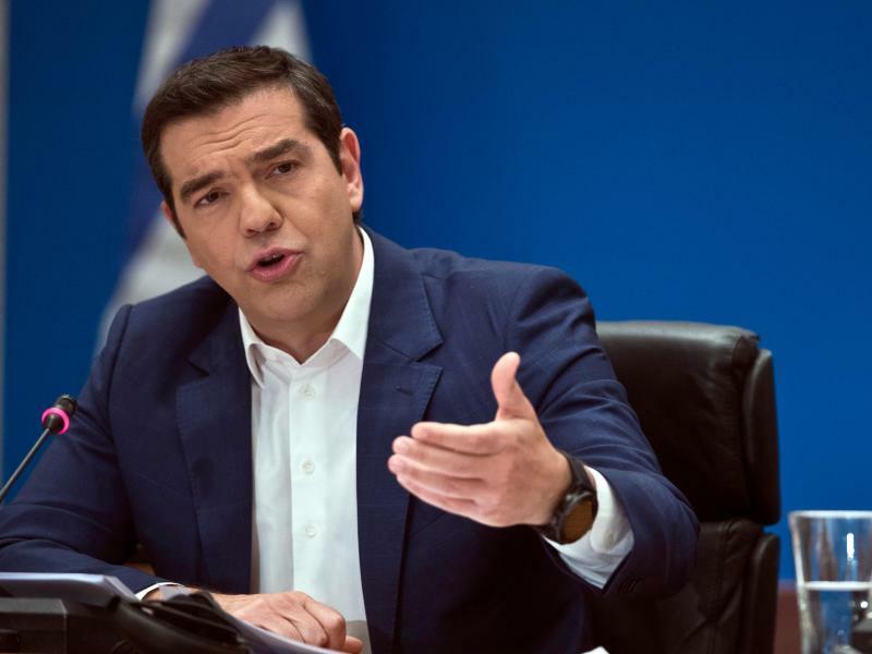 Alexis Tsipras - Foto: Petros Giannakouris/AP
