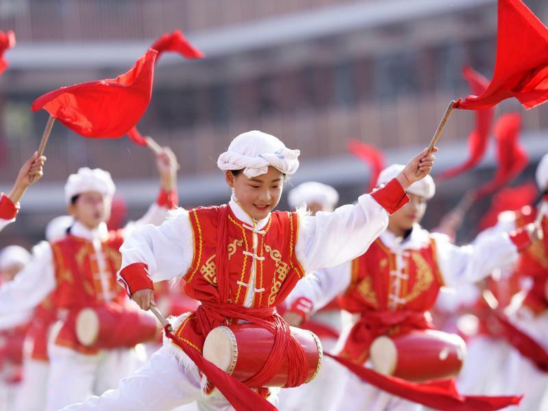 Musikalische Mongolen - Foto: Wang Zheng