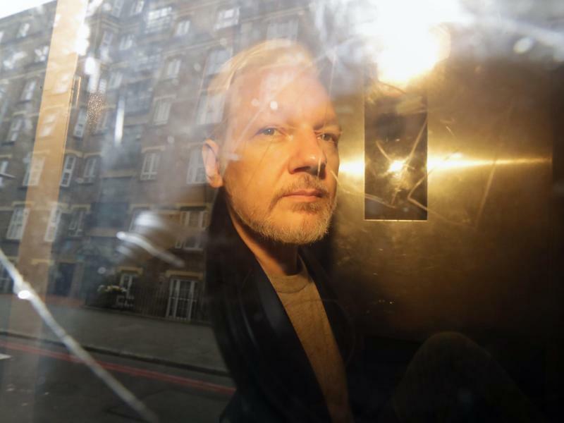 Julian Assange - Foto: Matt Dunham/AP