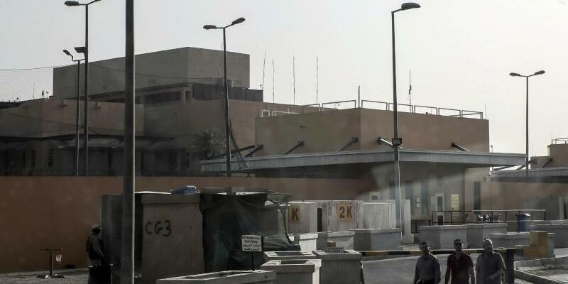 US-Botschaft in Bagdad - Foto: Michael Kappeler