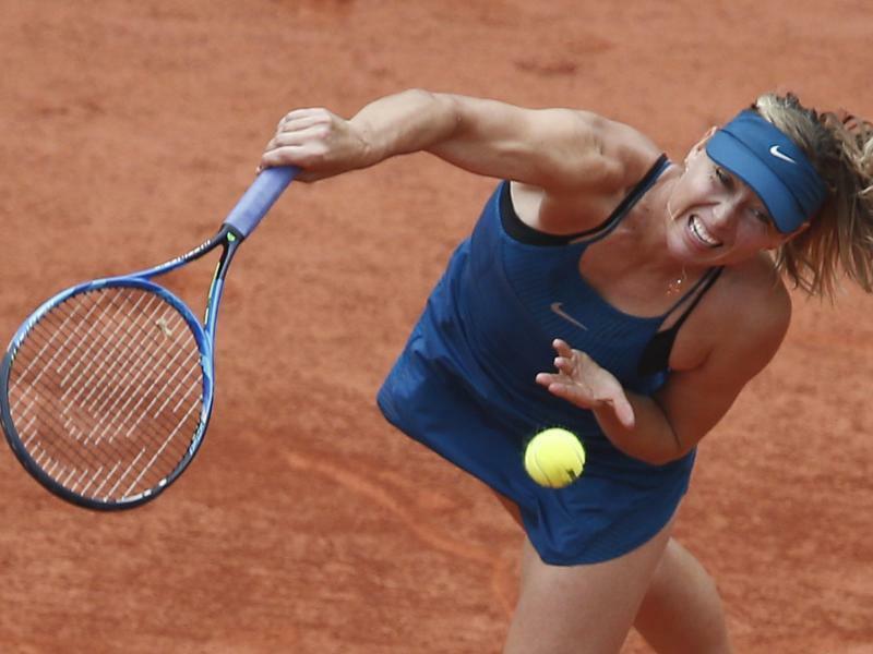 Maria Scharapowa - Foto: Thibault Camus/AP