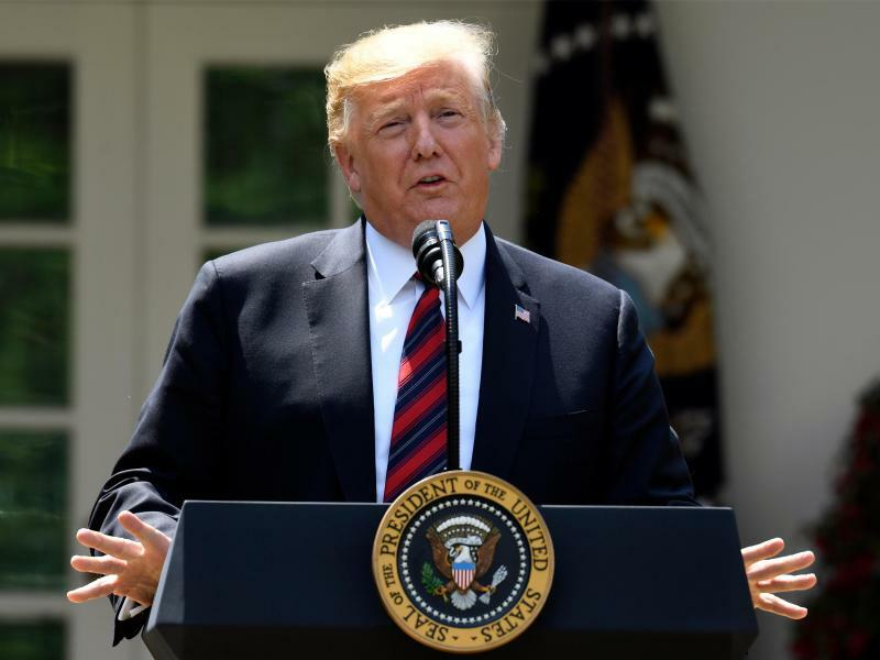 US-Präsident Trump - Foto: Susan Walsh/AP