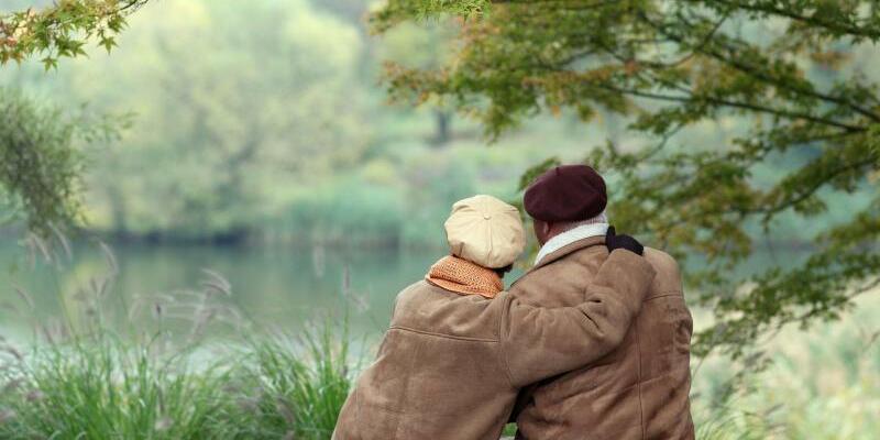 Älteres Paar - Foto: Patrick Pleul/Illustration