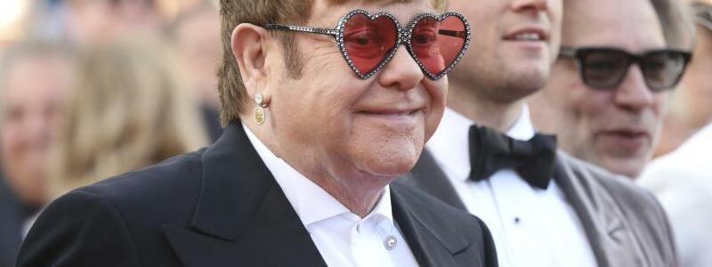Filmfestspiele in Cannes - Elton John - Foto: Vianney Le Caer/Invision/AP