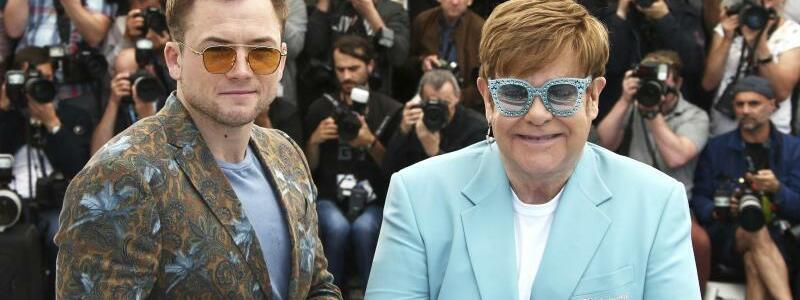 Filmfestspiele in Cannes - Egerton + John - Foto: Joel C Ryan/Invision/AP