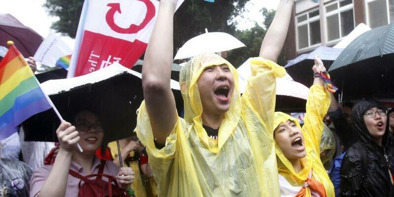 Jubel - Foto: Chiang Ying-Ying/AP