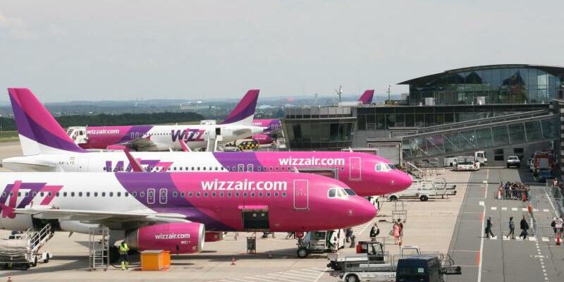 Wizz Air - Foto: Airport Dortmund/dpa-tmn