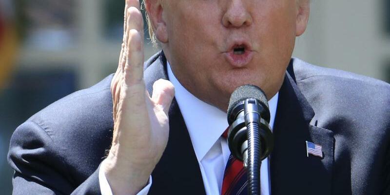 US-Präsident Trump - Foto: Manuel Balce Ceneta