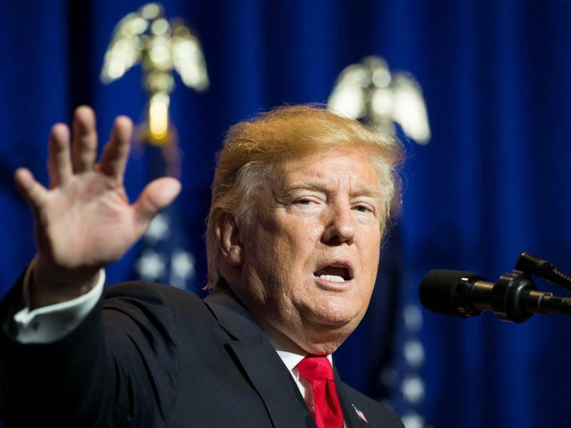 US-Präsident Trump - Foto: Alex Brandon/AP