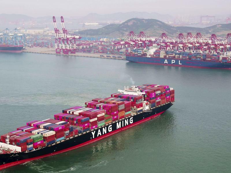 Containerschiff - Foto: CHINATOPIX