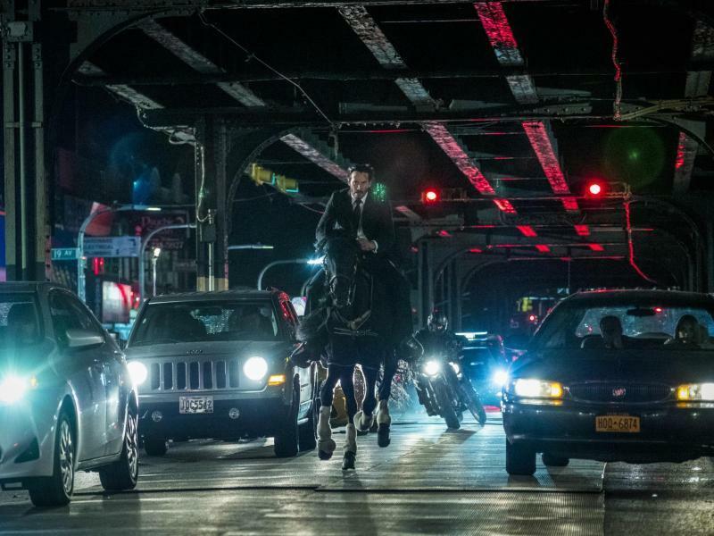 John Wick: Kapitel 3 - Foto: Keanu Reeves als John Wick in einer Szene des Films John Wick: Kapitel 3. Foto: