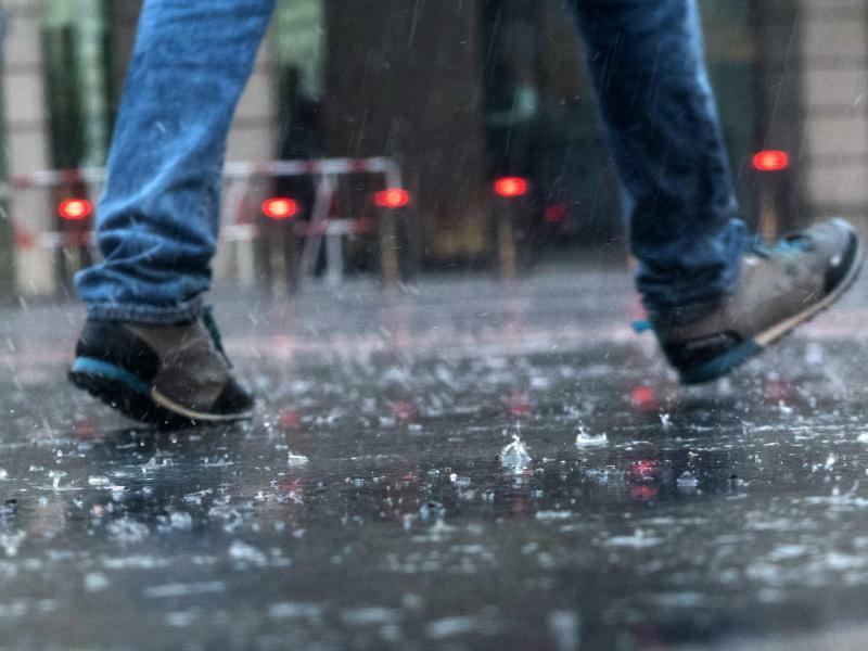 Regen in Berlin - Foto: Paul Zinken