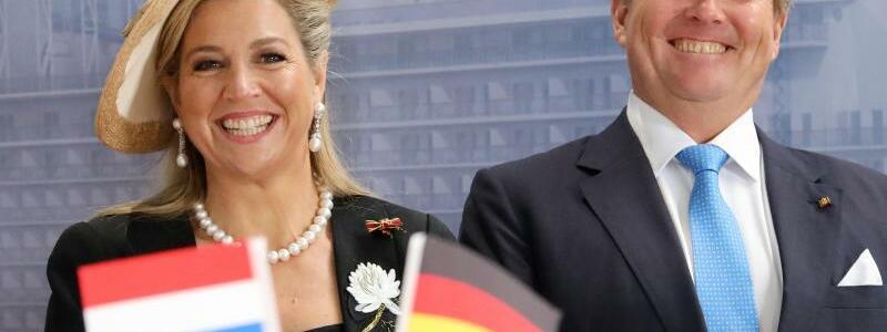 Niederländisches Königspaar - Foto: Bernd Wüstneck