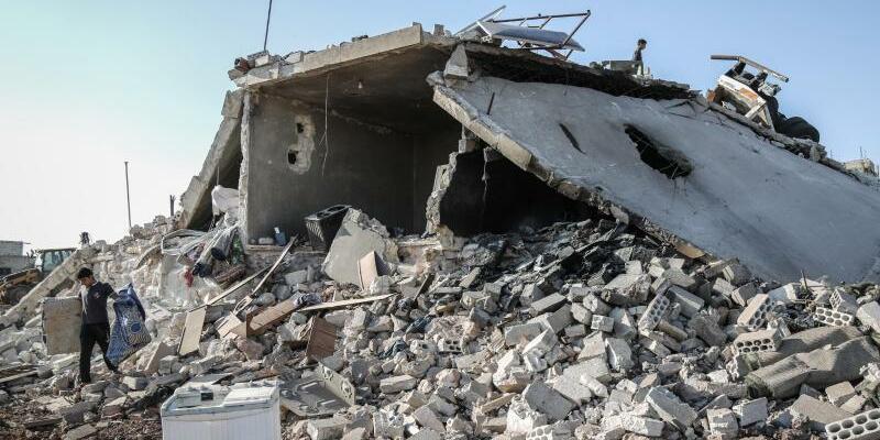 Konflikt in Syrien - Foto: Anas Alkharboutli