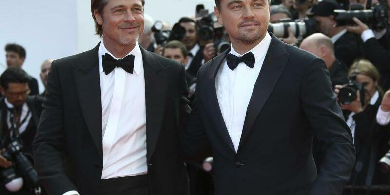 Filmfestspiele in Cannes - Pitt + DiCaprio - Foto: Joel C Ryan/Invision