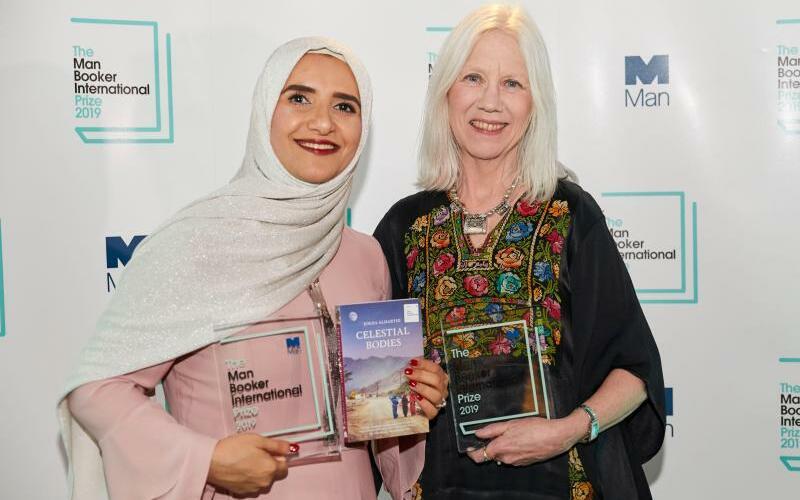 Jokha Alharthi + Marilyn Booth - Foto: Man Booker International Prize