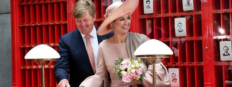 Niederländisches Königspaar - Foto: Britta Pedersen