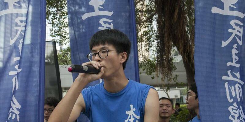 Aktivist aus Hongkong - Foto: Alex Hofford/EPA/Archiv