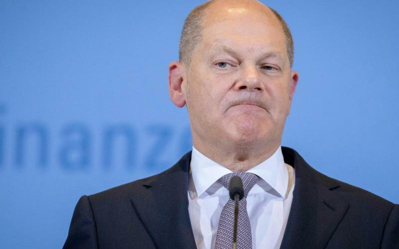 Finanzminister Olaf Scholz - Foto: Kay Nietfeld