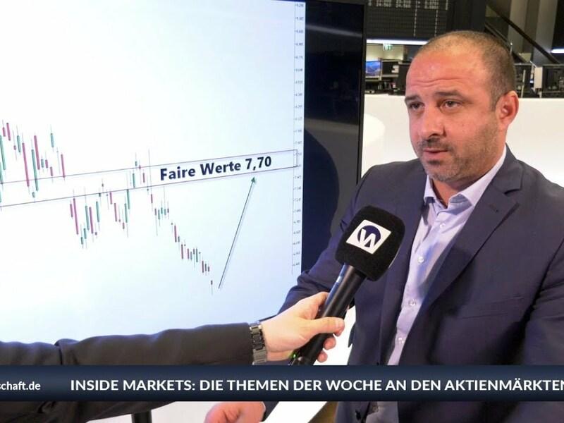 Auf der Hauptversammlung der Deutschen Bank wurde eine schnelle Transformation angekündigt. Die Aktie verlor erneut. Wenn man sich den Verlauf der Aktie anschaut, sieht das herbe aus. Sie hat neue Rekordtiefststände markiert. Wenn man denkt, dass es nicht mehr schlimmer werden kann, kommt es doch noch mal dicke, sagt XM-Marktanalyst Samir Boyardan. Bei Inside Markets mit Manuel Koch bewertet der Experte die Aktie als hochrisikoreich. Welche charttechnischen Ziele er sieht und wie es beim Dax weitergehen könnte, erklärt Boyardan im Interview und auf www.xm.com. - Foto: anlegerverlag.de