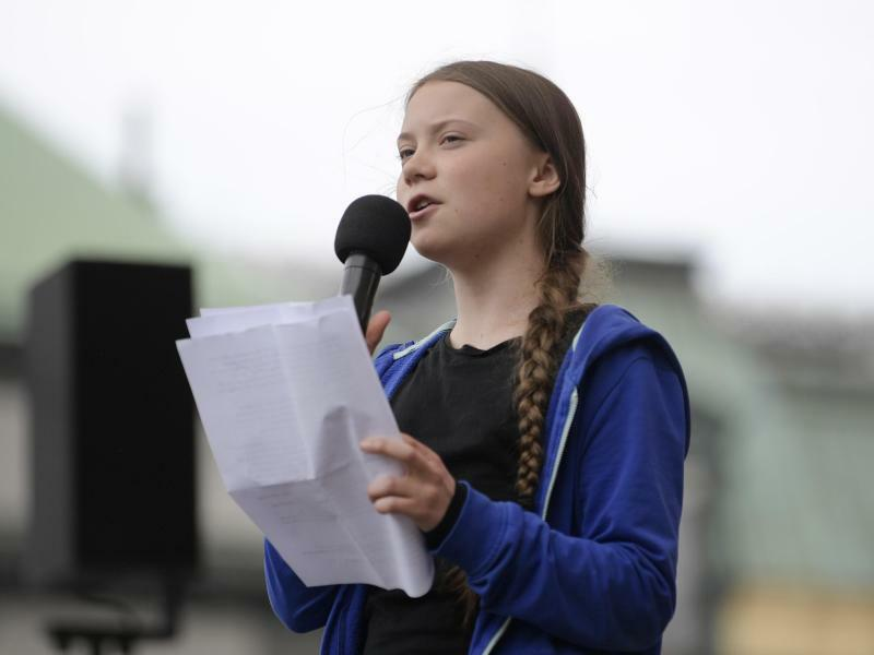 Greta Thunberg - Foto: Janerik Henriksson/TT/TT NEWS AGENCY/AP/