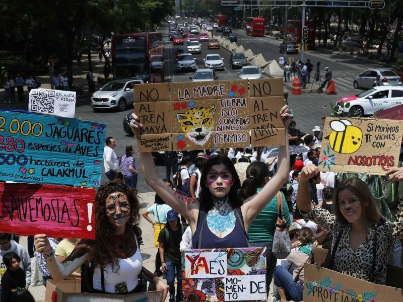 Fridays for Future in Mexiko - Foto: Marco Ugarte/AP