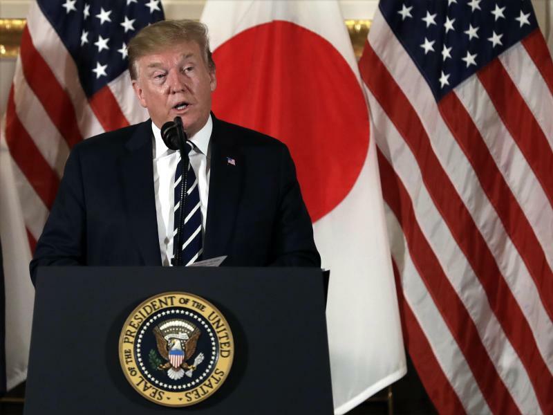 US-Präsident Trump besucht Japan - Foto: Evan Vucci/AP
