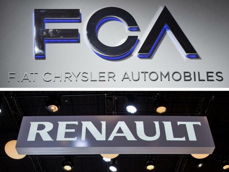 Fiat Chrysler und Renault - Foto: Daniel Karmann/Uli Deck/ILlustration