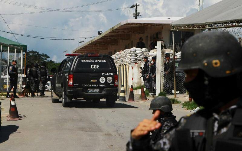 Unruhen in brasilianischem Gefängnis - Foto: Edmar Barros/AP